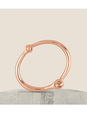 NONE Reeve rose-gold plated bracelet