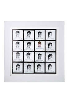 CHRIS DUFFY STUDIO David Bowie Aladdin Sane contact sheet print