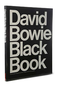 IDEA BOOKS David Bowie Black Book