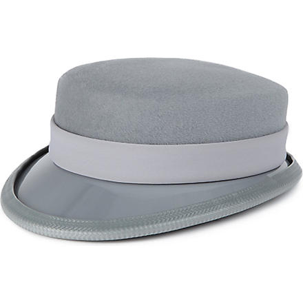 KEELY HUNTER Peaked hat (Grey