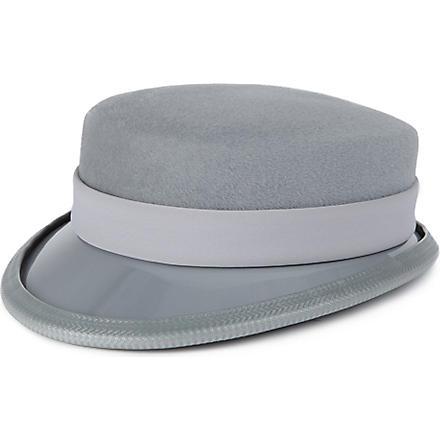 KEELY HUNTER Peaked hat (Grey