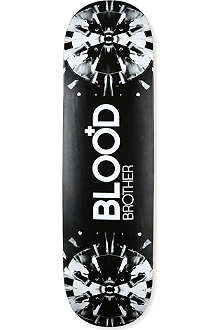 BLOOD BROTHER Shattered CD-print skateboard deck