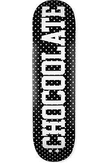 CHOCOOLATE Logo skateboard deck