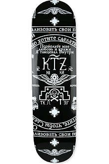 KTZ Printed skateboard deck