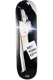 Oak New Yoak skateboard deck