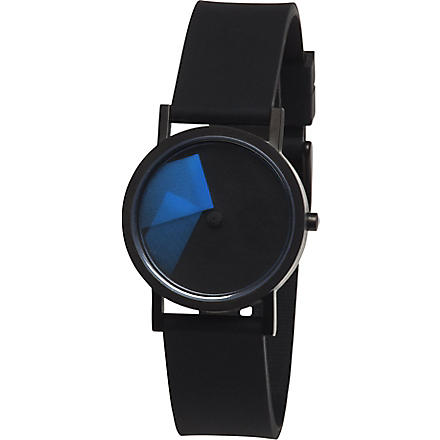 DEZEEN WATCH STORE PROJECTS Déjà Vu watch (Blue