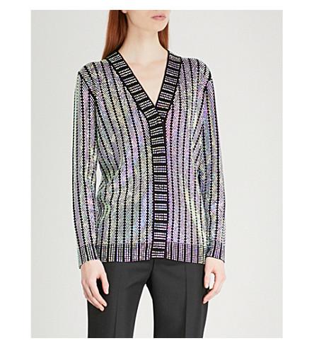 GUCCI Crystal-embellished jacket (Black