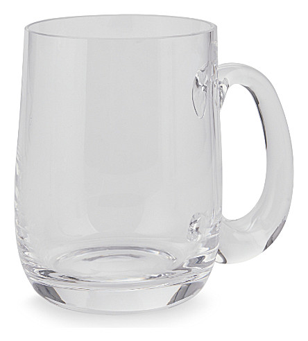 DARTINGTON Falstaff crystal tankard