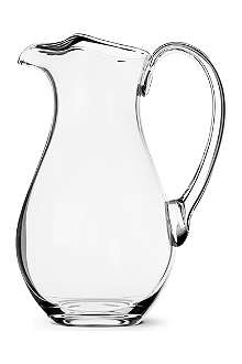 DARTINGTON Ice Lip crystal jug