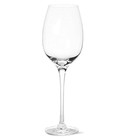 Dartington new world pair of crystal large white wine for Large white wine glasses