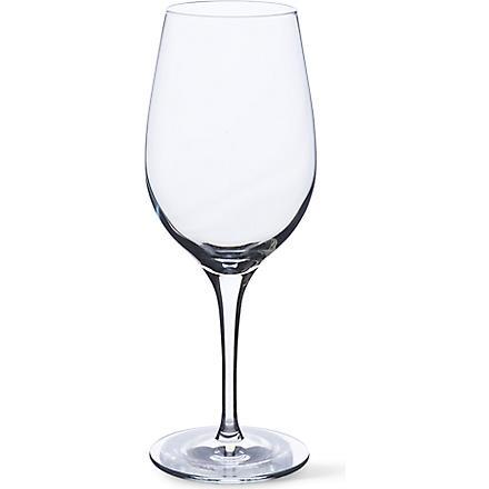 DARTINGTON Crystalline set of six white wine glasses