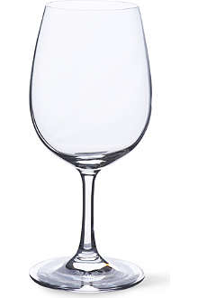 DARTINGTON Bare Essential 64 set of six crystalline white wine glasses