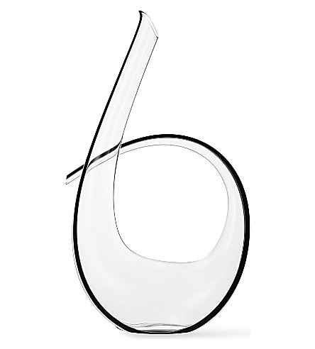 RIEDEL Decanter Crystal Black Tie