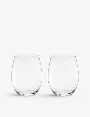 RIEDEL 'O' Cabernet/Merlot glasses pair