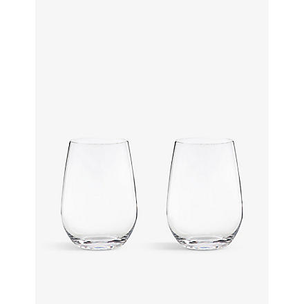 RIEDEL 'O' Riesling/Sauvignon glasses pair