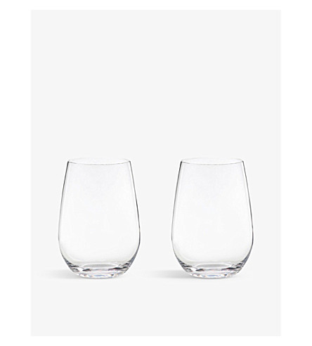 RIEDEL 'O' riesling/sauvignon tumblers pair