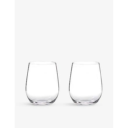 RIEDEL 'O' Viognier/Chardonnay glasses pair
