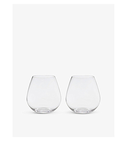 RIEDEL 'O' Pinot Noir glasses pair
