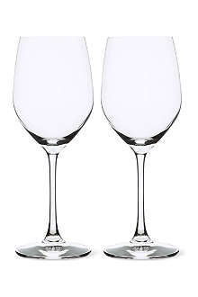 Set of two Vino Grande red wine glasses