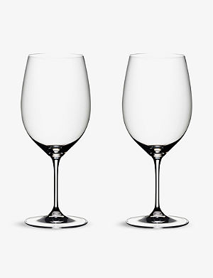 RIEDEL Vinum Bordeaux glasses pair