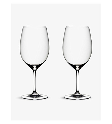 RIEDEL Vinum Bordeaux Port glasses pair