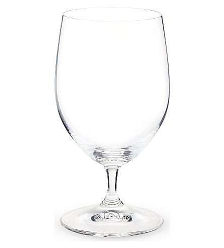 RIEDEL Vinum water glasses pair