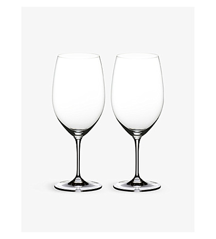 RIEDEL Vinum Syrah glasses pair