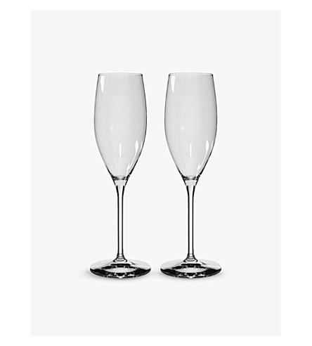 RIEDEL vinum 基金香槟眼镜对
