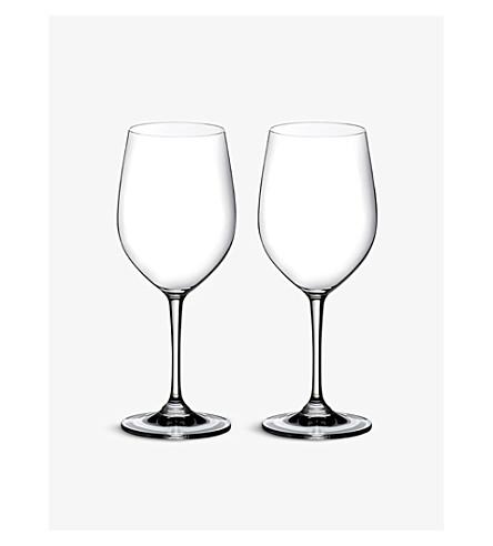 RIEDEL Vinum Chardonnay glasses pair