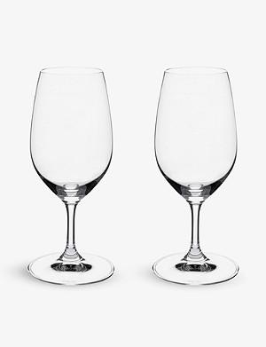RIEDEL Vinum Port glasses pair