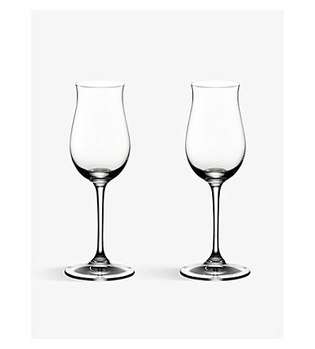 RIEDEL Vinum Cognac Hennesy glasses pair