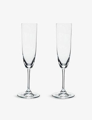 RIEDEL Vinum champagne glasses pair