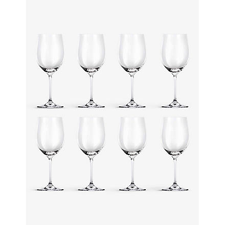 RIEDEL Vinum Chablis/Chardonnay glasses set of eight
