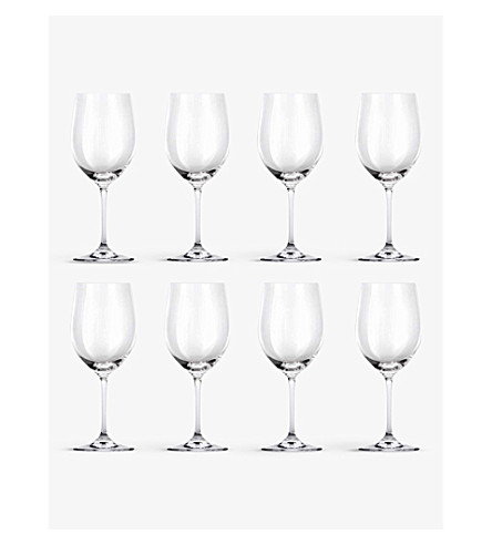 RIEDEL Vinum Chablis/Chardonnay glasses set of eight