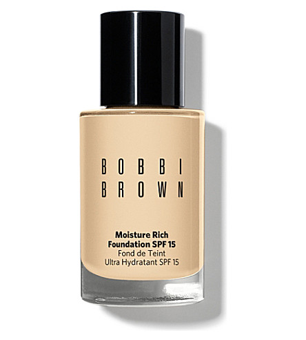 BOBBI BROWN Moisture Rich foundation SPF 15 (Beige