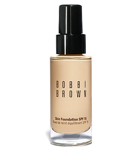 BOBBI BROWN Skin foundation SPF 15 30ml (Cool beige