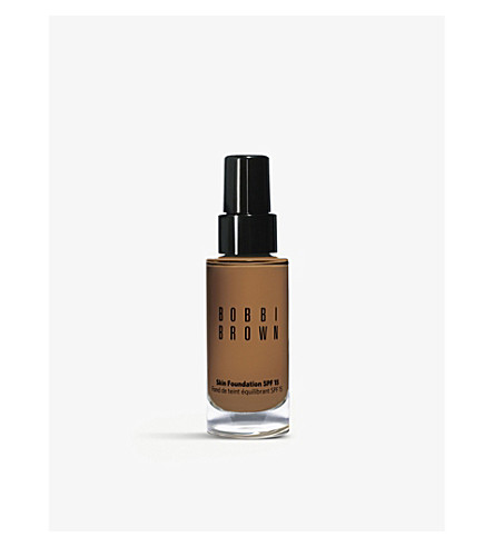 BOBBI BROWN Skin foundation SPF 15 30ml (Warm almond