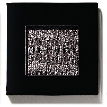 BOBBI BROWN Metallic eyeshadow (Black+charcoal