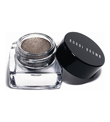BOBBI BROWN Metallic Long Wear cream eyeshadow (Brown+metal