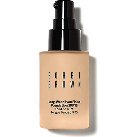 BOBBI BROWN Long-Wear Even Finish Foundation SPF 15 (Sand