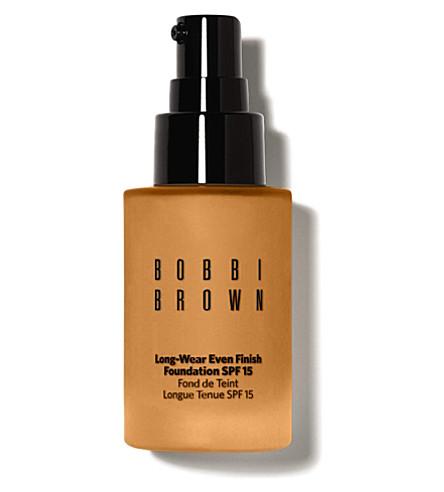 BOBBI BROWN Long-Wear Even Finish Foundation SPF 15 (Warm honey