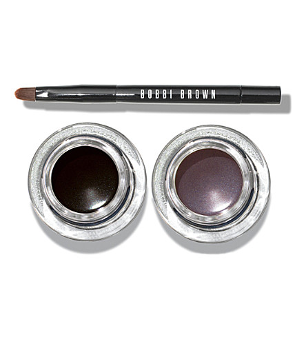 BOBBI BROWN Cat Eye Long-Wear Gel eyeliner and brush set
