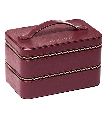 BOBBI BROWN Faux-leather beauty case