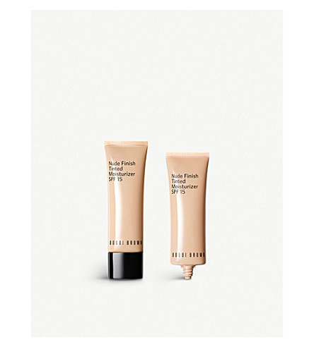 BOBBI BROWN Nude Finish Tinted Moisturiser (Extra+light