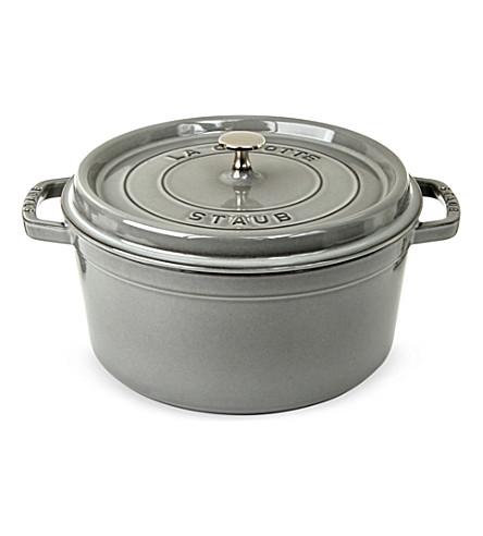 STAUB Round cocotte cast-iron dish 26 cm