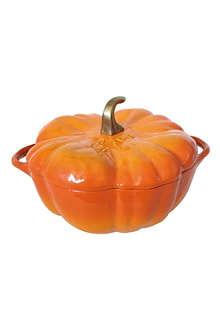 STAUB Cast iron pumpkin cocotte 34cm