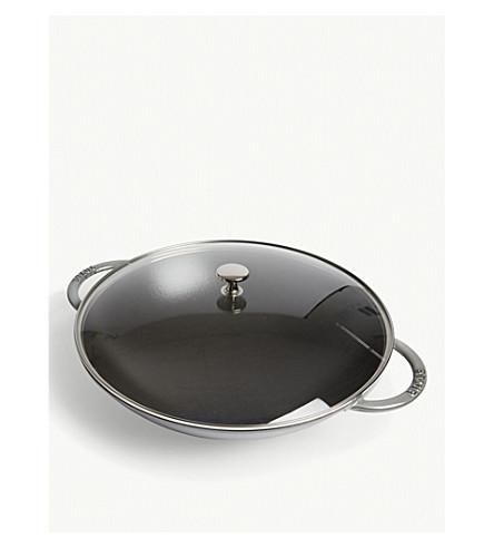 STAUB Perfect Pan cast iron wok