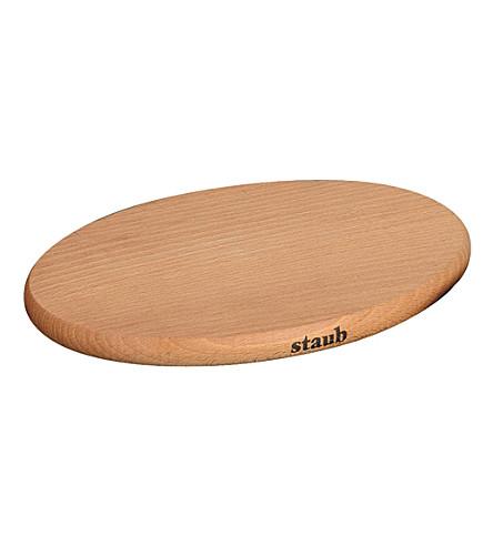 STAUB Magnetic wooden trivet 21cm