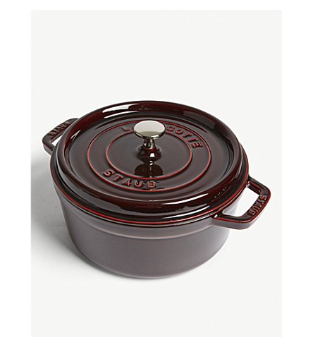 STAUB Rounded cocotte 24 cm