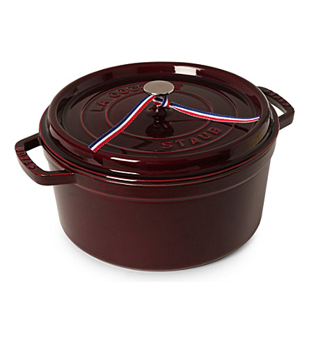 STAUB Rounded cocotte 28 cm